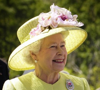 Queen Elizabeth II (photo by NASA)