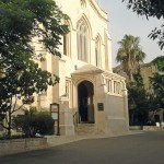 At the crossroads: Christ Church, a tranquil oasis within the walls of Jerusalem's Old City and venue for At the Crossroads.