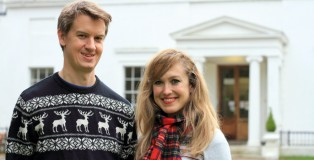 James Vane and sister Emma have launched Christmas Carols Radio