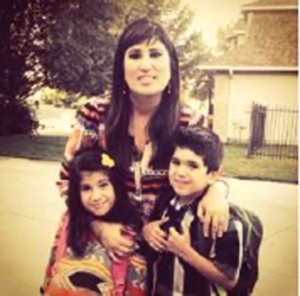 Naghmeh Saeed has campaigned constantly for her husband's release from an Iranian jail. Photo: Breaking Christian News