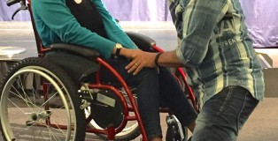 Janice arrived in a wheelchair suffering from a degenerative spine