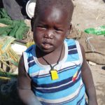 A child in Sudan