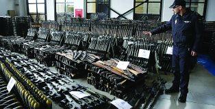 Terrorist arms cache seized in Spain