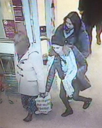 Thieves swoop on Rev Hulcoop as she walks through Sainsbury's