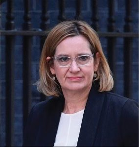 'Distressing'; Home Secretary Amber Rudd on the effects of London's Al Quds march Picture: Christians United for Israel