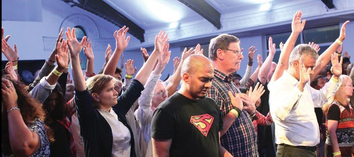 Revival falls on Ilford church