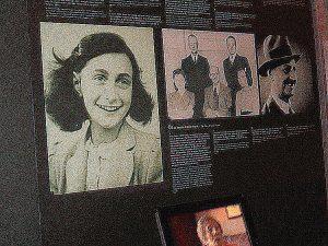 Anne Frank memorial