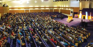 Creation crowd: About 1,700 Christians attended the UK Creation Mega Conference