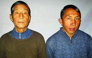 Pastors Dom Dawng Nawng Latt (left) and La Jaw Gam Hseng