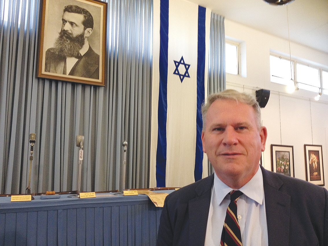 """""""Direct, clear and unswerving"""": Colonel Richard Kemp presents 'Whose Land?'"""