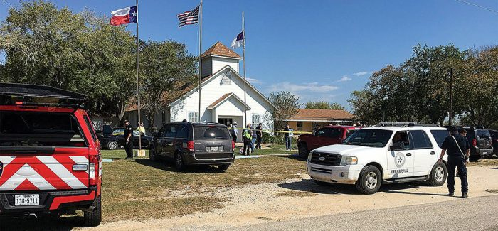 Texas governor asks for God's comfort for town in church massacre