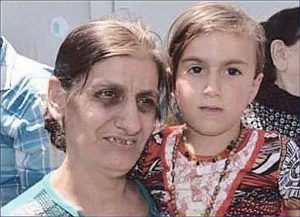 Back in her mother's arms: Christina Khader Ebada, the Assyrian girl captured in 2014