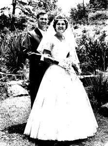 Till death us do part: the Hurds' 1961 wedding