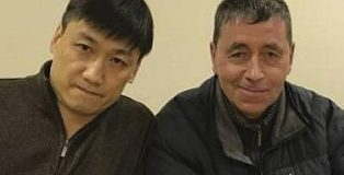 Charges were dropped against preachers Dave Barker (right) and Stephen Wan (left) after the Christian Legal Centre explained to police that freedom of speech permitted them to explain Christian beliefs