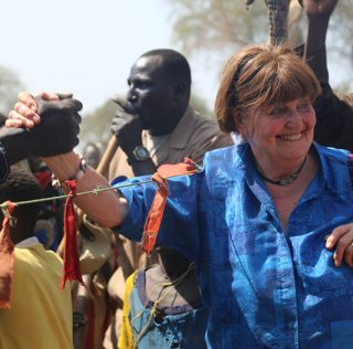 "Baroness Cox: Sudanese war victims ""eating leaves"" to survive"