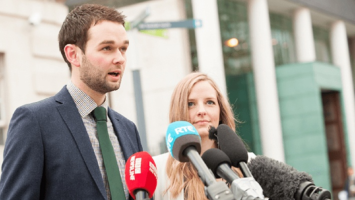 Daniel and Amy McArthur are waiting for their Ashers Baking Company's appeal to be heard at the Supreme Court in May; their case has cost the Christian Institute £200,000 in legal fees