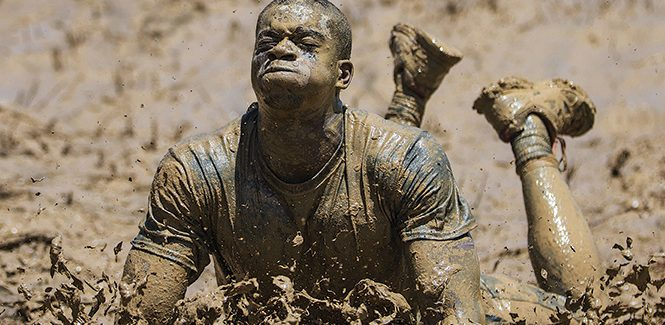 Tough evangelists' muddy mission
