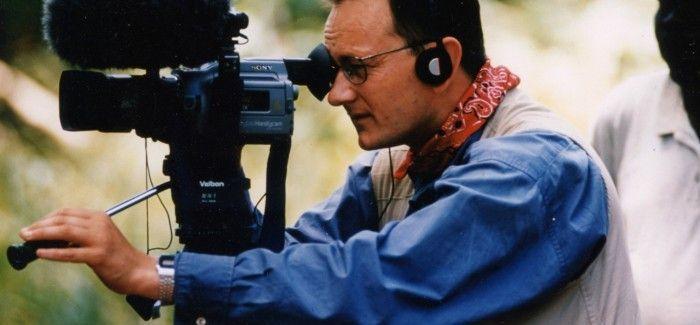 Andrew Boyd filming in Sudan for Tearfund (photo by Richard Hanson)