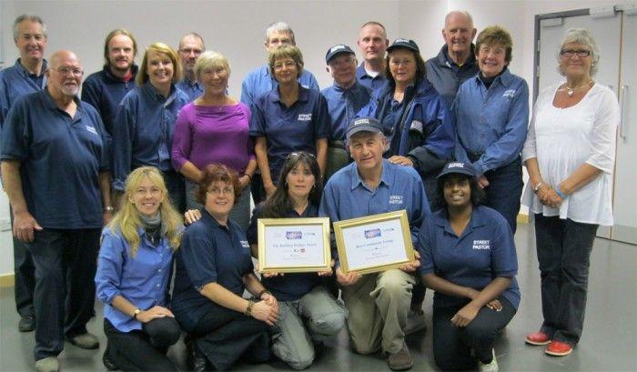 The Hastings Street Pastor team winning two community awards last year