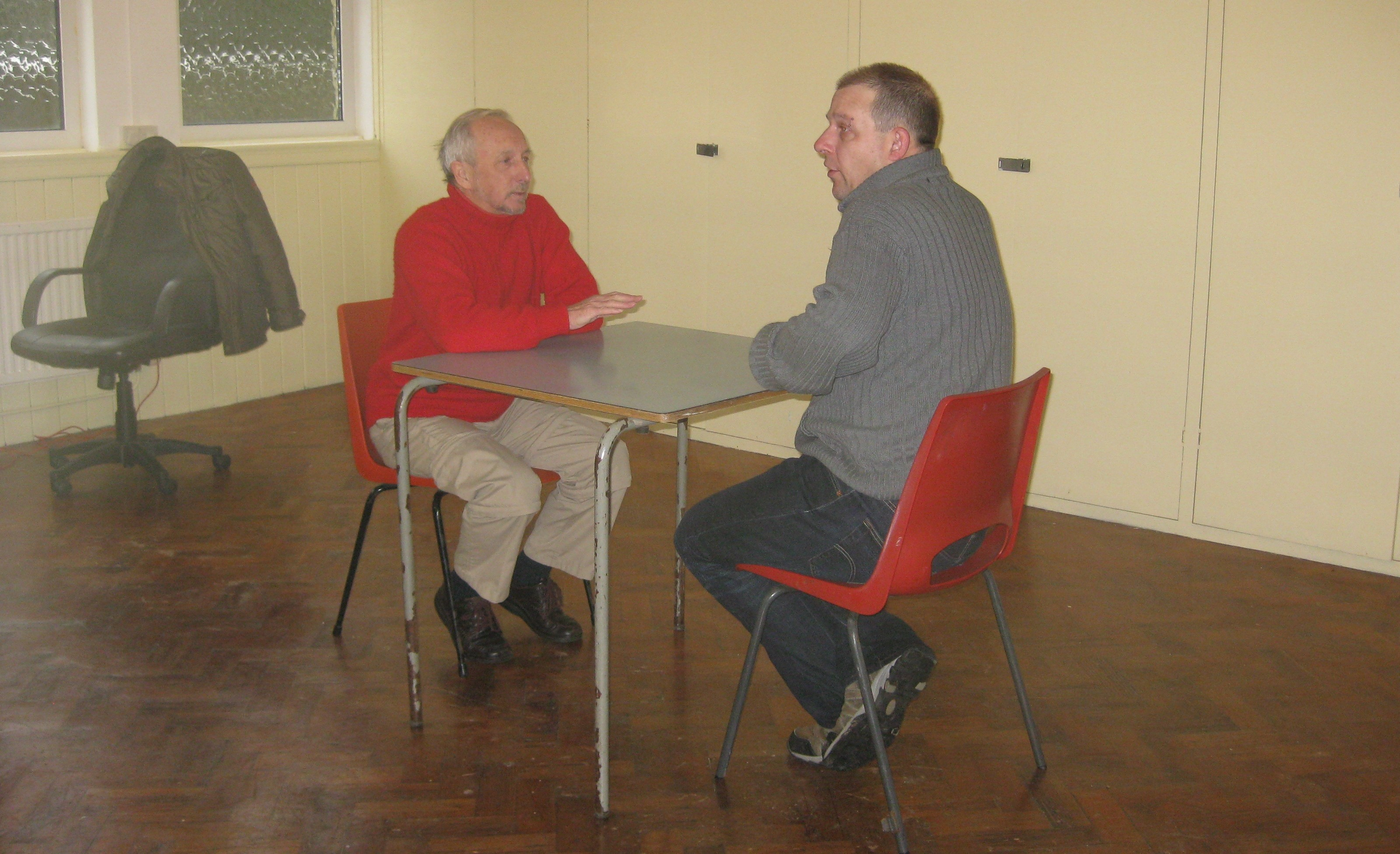 Mentoring and Advice at the Community Centre