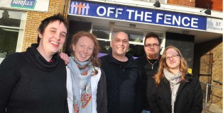Brighton's Off the Fence team is rejoicing at securing their centre for the homeless