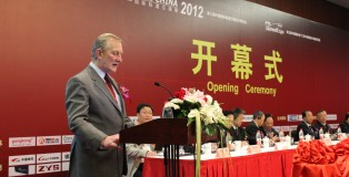 Robin Hirsch speaking at a Beijing conference last year