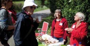 Sponsored walk, Loughborough, for Christian Aid Week