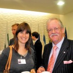 Donna with former boss Roger Helmer MEP