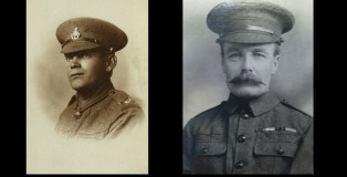 WW1 soldiers ASR Ransley and Private Albert Henry Wood