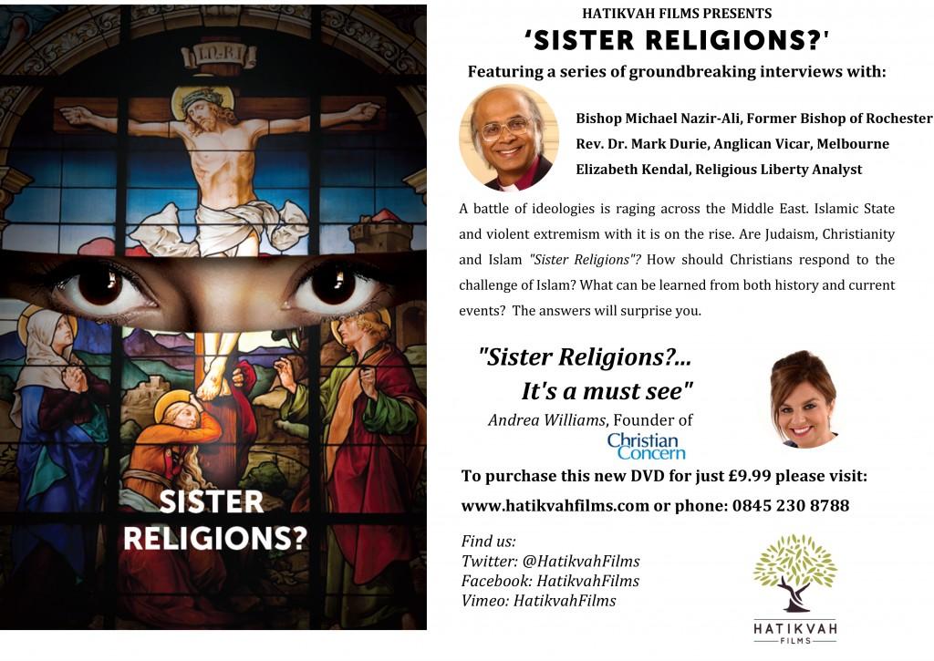 Hatikvah Films presents 'Sister Religions?'