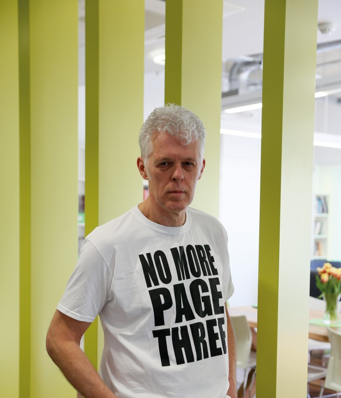 The EA's Steve Clifford has been fighting to end page 3 for nearly a year