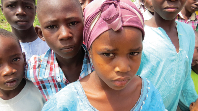 Nigerian children have been killed, kidnapped and have lost parents during the Islamist campaign by Boko Haram. Photo: Open Doors USA