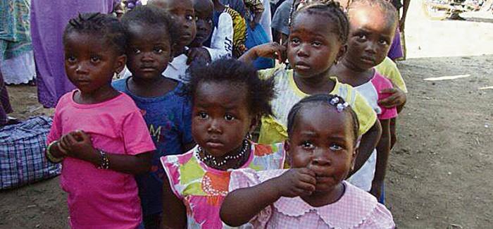 Heaven Homes build hope in Ebola region