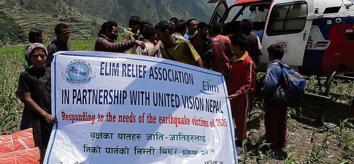 Brighton Pastor helps Nepal quake victims