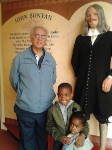 Paul Marsh and friends meet John Bunyan