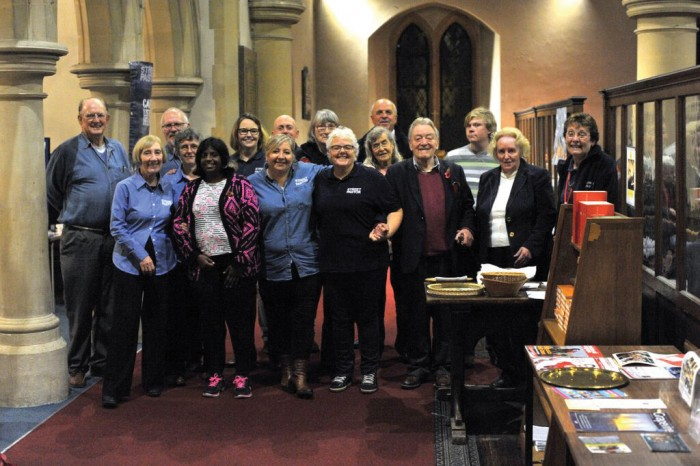 PRAYER POWER: The Prayer Pastors who support the Street Pastors as they go out on duty