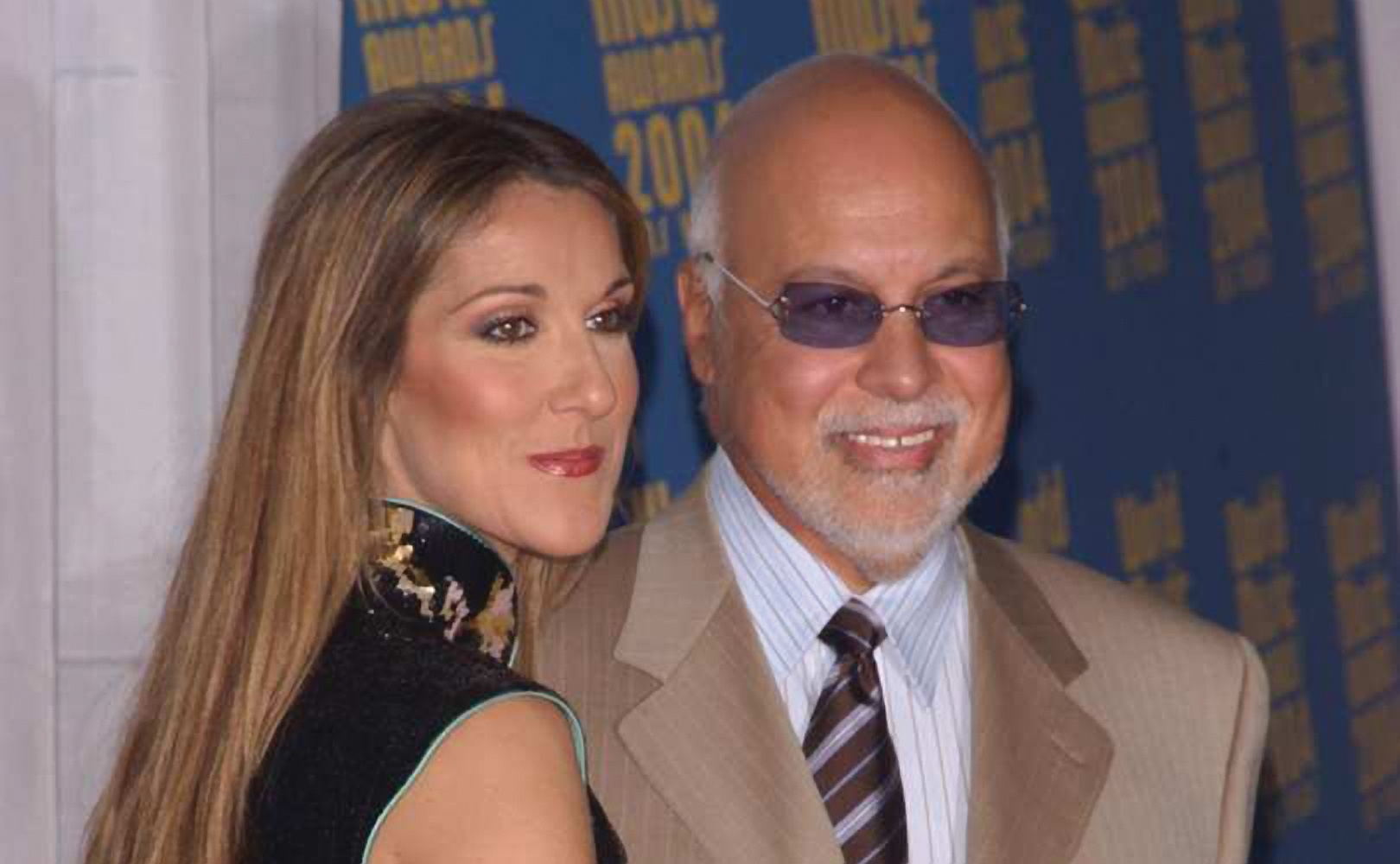 Celine Dion with her late husband and former manager, Rene Angélil (Photo via LifeSiteNews)
