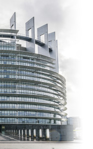 The EU parliament building Strasbourg: Europe's modern day Tower of Babel?