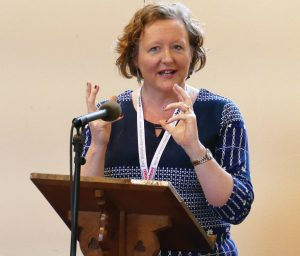 Marcham Conference organiser 'Kate Ward'. Photo Andrew Boyd / Release International