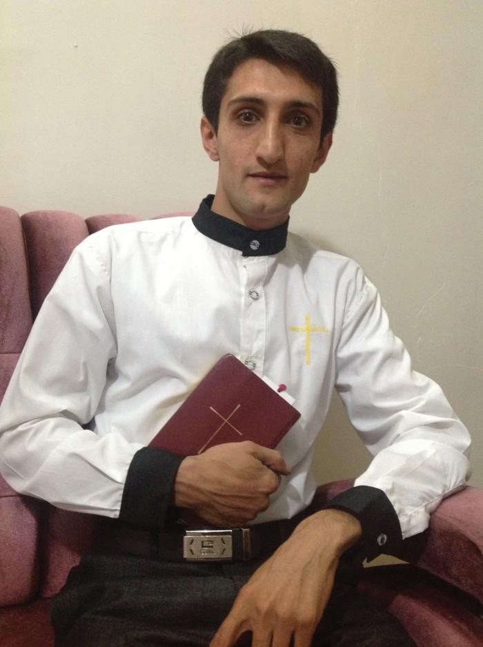 Iranian prisoner encourages the faithful