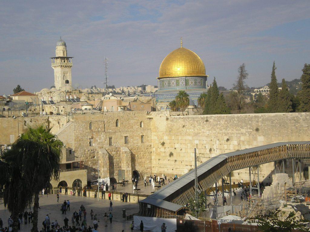 Rock solid, but Jerusalem's civilians have suffered random terror attacks Photo: Charles Gardner