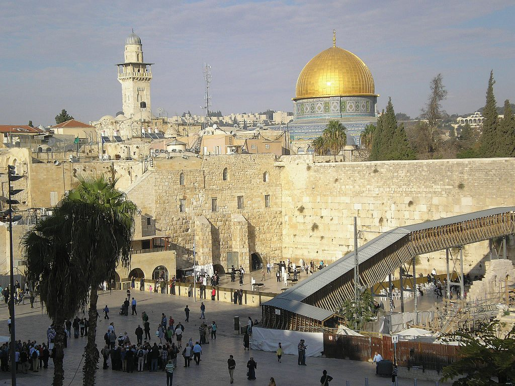 'Illegally occupied': Britain backed the UN resolution that declared Israel is illegally 'occupying' much of the land to which it is historically, and biblically, entitled – including the Temple Mount, Western Wall and the Old City itself (every inch of east Jerusalem, in fact) which has been part of Judaism for thousands of years