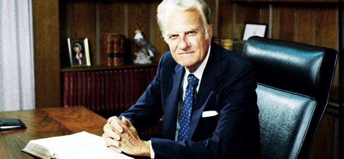 Billy Graham 1918–2018, A life to celebrate