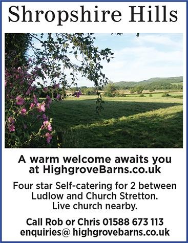 Shropshire Hills Advert