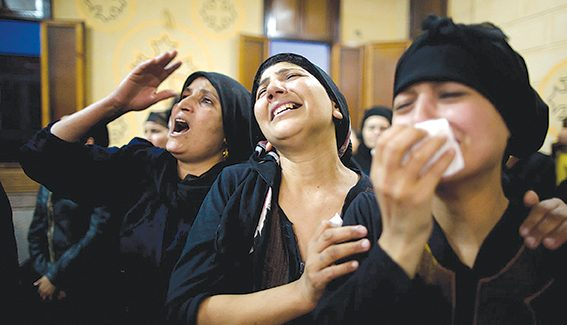 Churches closed after Muslim riots