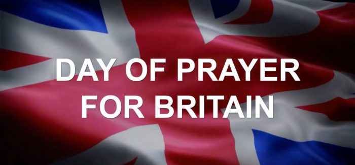 Powerful prayer on the  day  Britain should  have  left the EU