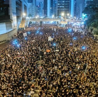 Hong Kong anti-extradition law protest on 16 June