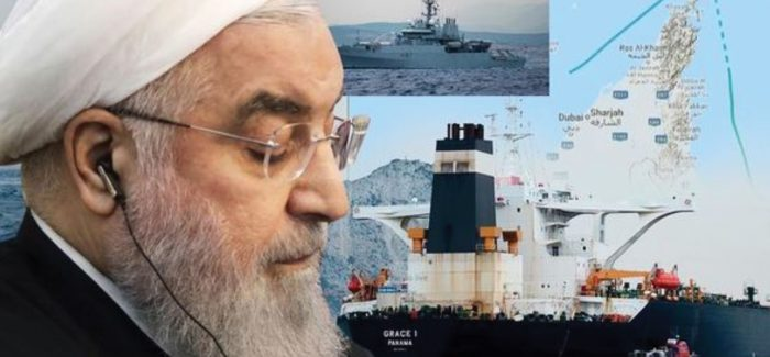 President Rouhani of Iran presides over the tanker crisis