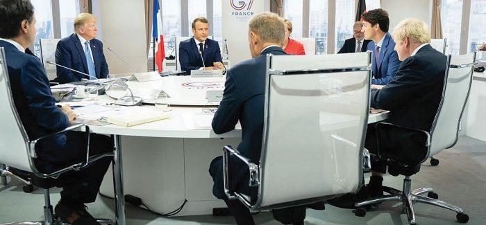 World leaders including Boris Johnson at the G7 Summit