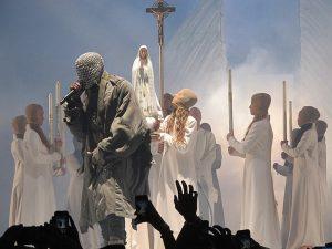 Kanye West's Yeezus Tour in 2013